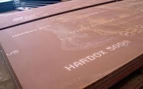 ورق هاردوکس 500 موجود در بانک فولاد
