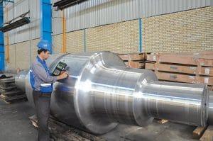 تست کیفیت فولاد اسفراین